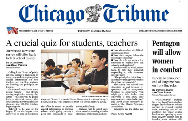 Chicago Tribune discount subscriptions are not available for every address. A Chicago Tribune subscription customer service representative can help determine what delivery options are available if your address doesn't qualify for Chicago Tribune home delivery.