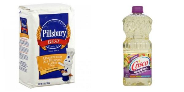 crisco oil and pillsbury flour