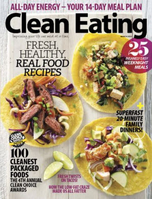 free one-ear clean eating magazine digital subscription