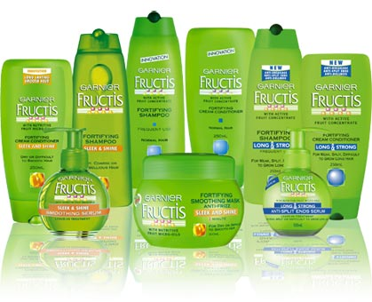 Garnier Fructis Hair Product Coupons