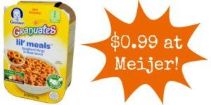 Meijer: Gerber Graduates Only $0.99!