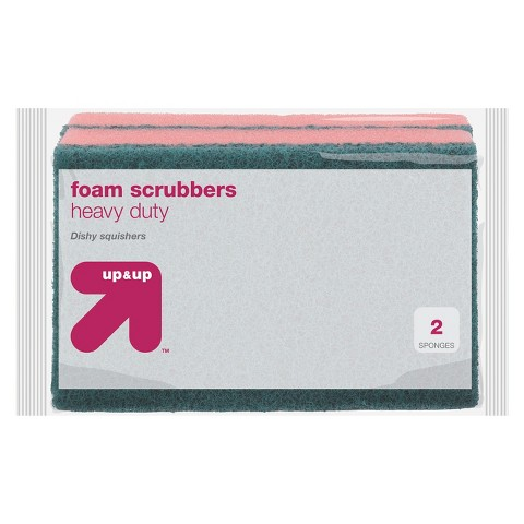 up & up foam scrubbers