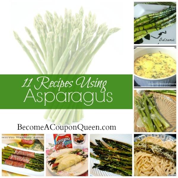 11 Recipes Using Asparagus