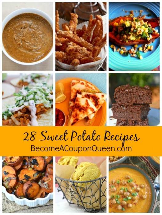 28 Sweet Potato Recipes