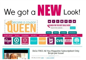 Become a Coupon Queen Got a Makeover!