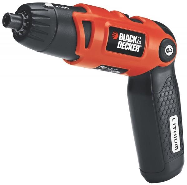 Black & Decker 3.6-Volt 3-Position Rechargeable Screwdriver