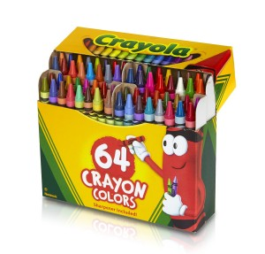 Crayola 64 Ct Crayons Only $2.89! Best Price!