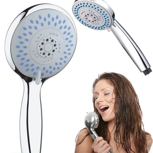 Deluxe 5-Function Handheld Shower Head