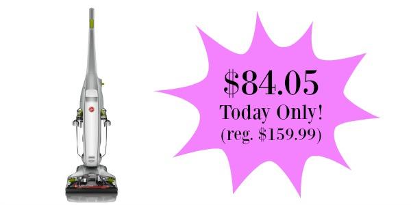 Hoover Floormate Deluxe Hard Floor Cleaner Only 84 05