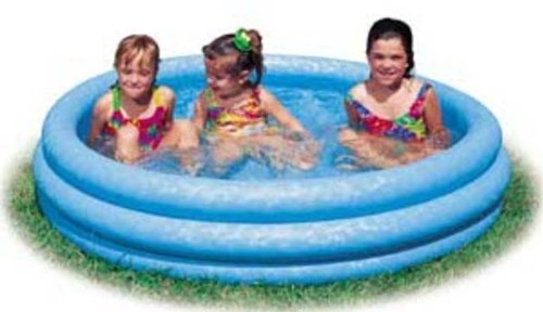 Intex Inflatable Crystal Blue Swimming Pool For Children