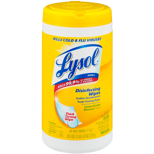 Lysol Disinfecting Wipes 80ct