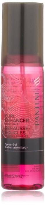 Pantene Pro-V Curly Hair Style Curl Enhancing Spray Hair Gel 5.7 Fl Oz (Pack of 3)
