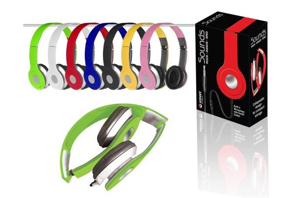 Sounds Foldable Headphones