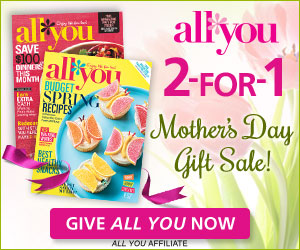 On touchbase.ml, you can find exclusive printable coupons and a variety of free samples available each day. Subscribe to the All You magazine with special saving found on their website and enjoy a variety of money-saving tips in every issue.