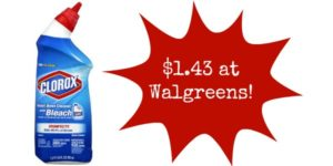 Walgreens: Clorox Toilet Bowl Cleaner Only $1.43!