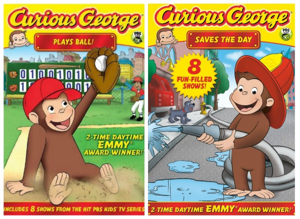 curious george dvd