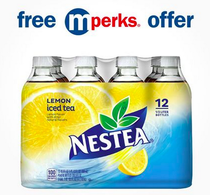 free nestea 12-pack at meijer