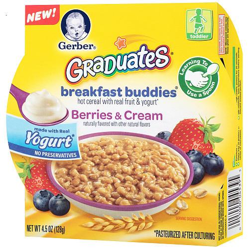 gerber graduates breakfast buddies meals