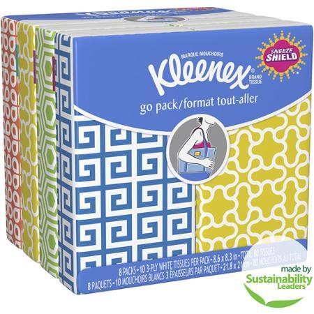 kleenex go packs