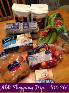 Aldi Shopping Trip – See What I Got for $10.26!