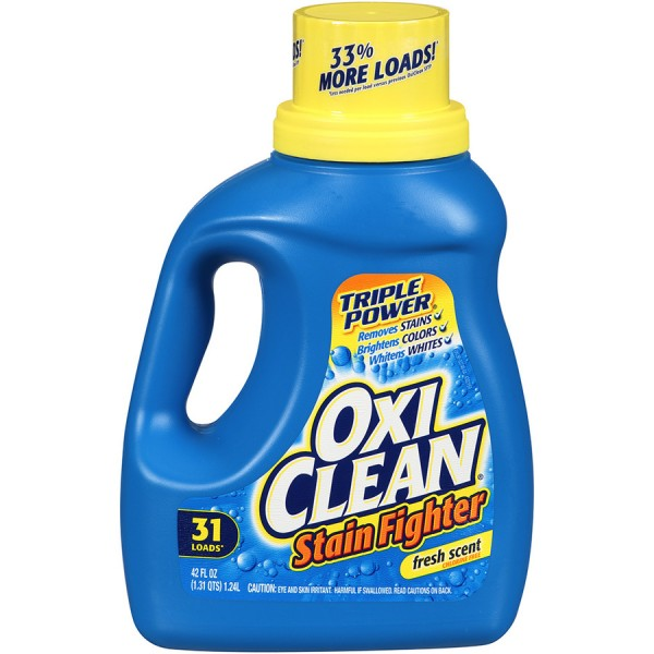 oxiclean stain fighter laundry detergent 31 loads