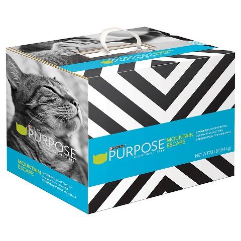 purina purpose clumping cat litter