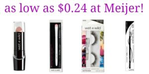 Meijer: Wet 'N Wild Products as low as $0.24!
