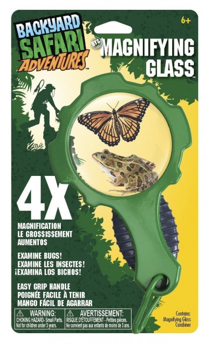 Backyard Safari Magnifying Glass Science Kit