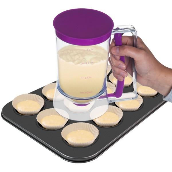 Chef Buddy Cake Batter Dispenser, 4-Cup