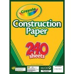 Crayola Construction Paper Pad with 240 Sheets Only $4.96!