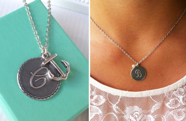 Designer Inspired Initial Necklace