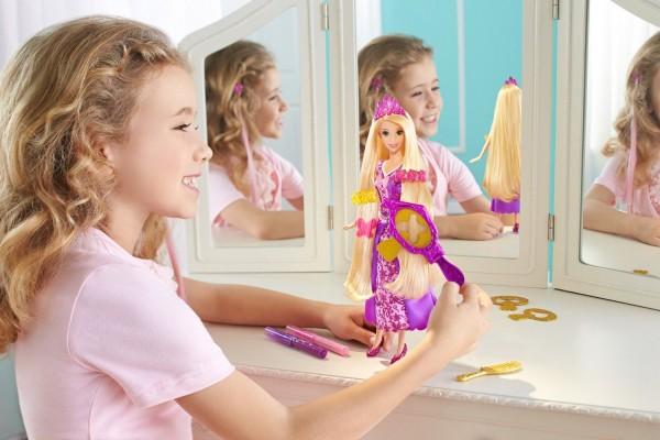 Draw 'n Style Hair Rapunzel Doll