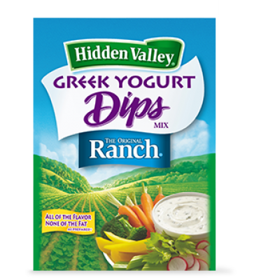FREE Hidden Valley Greek Dips