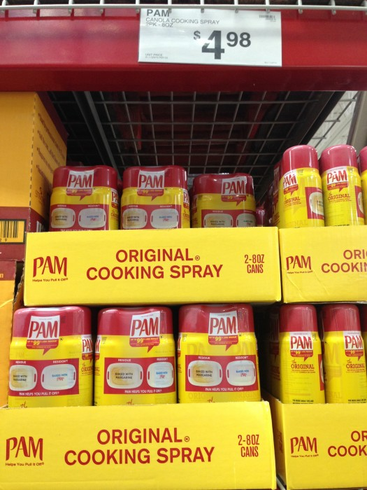 Pam Cooking Spray at Sam's Club