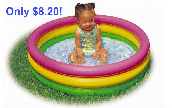 Intex Sunset Glow Baby Pool Only Become A Coupon Queen