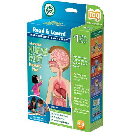 LeapFrog LeapReader Interactive Human Body Discovery Set Only $5.48 ...