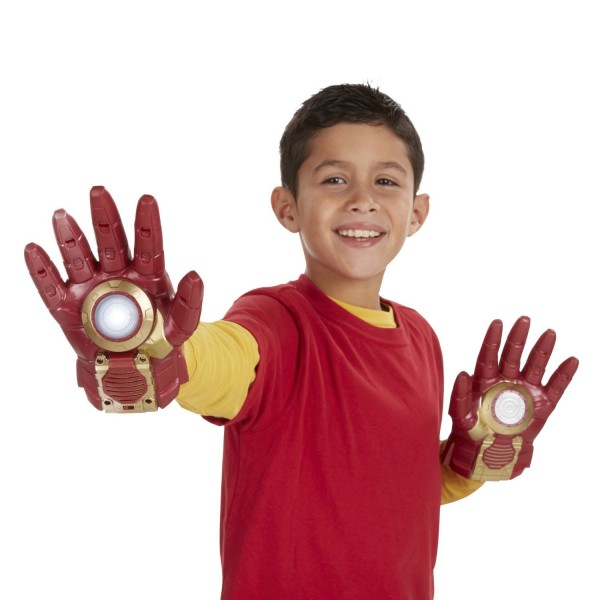 Marvel Avengers Age of Ultron Iron Man Gloves