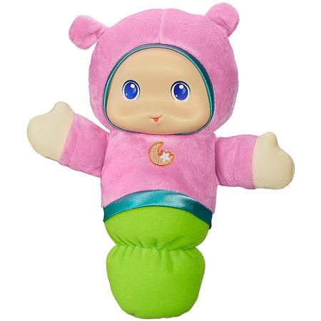 Playskool Play Favorites Lullaby Gloworm Toy, Pink