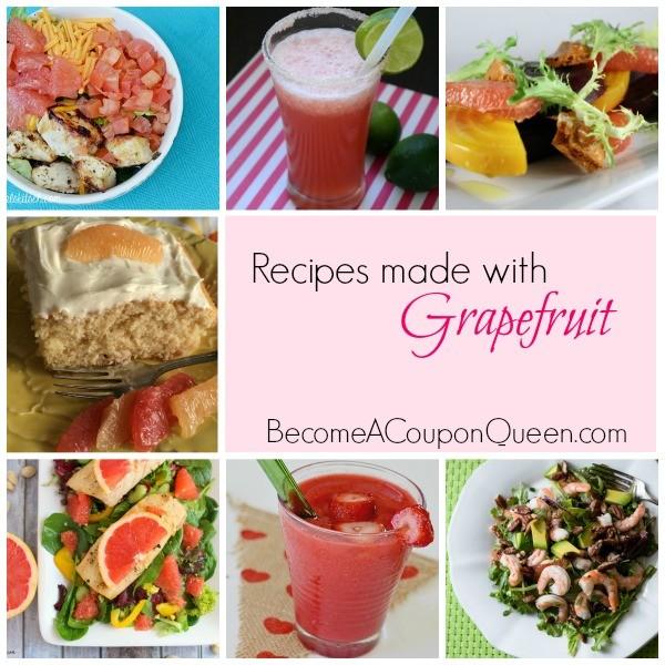 Recipes using grapefruit