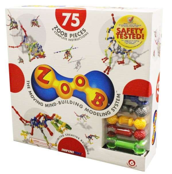 ZOOB 75-Piece Modeling System