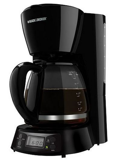 Black and Decker 12 Cup Digital Coffee Maker Only USD 17.88!