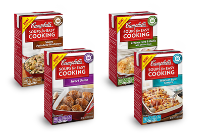 campbells soups for easy cooking