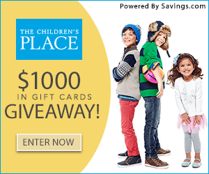children's place giveaway