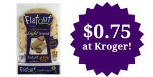 Kroger: Flatout Flat Bread Only $0.75!