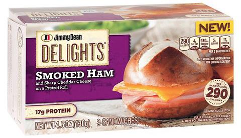 jimmy dean frozen sandwiches