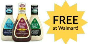 FREE Ken's Salad Dressing at Walmart!