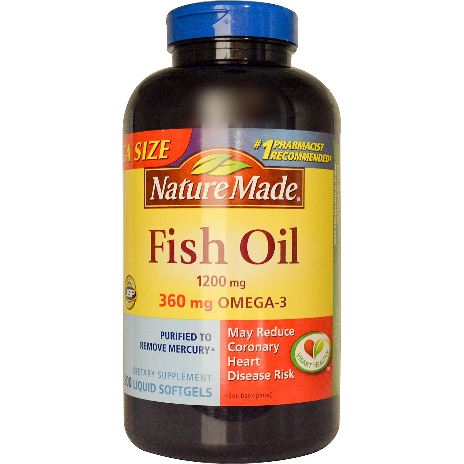 target nature made vitamin d or fish oil only