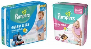 Target: Pampers Easy Ups Bags Only $3.99!