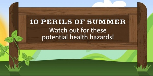 10 perils of summer
