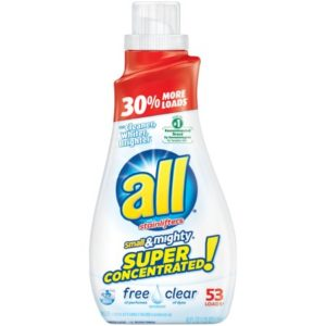 Target: All Laundry Detergent 53 loads Only $2.99!